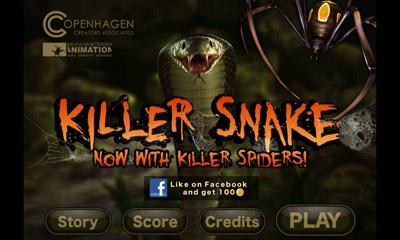 Killer Snakecapturas de pantalla