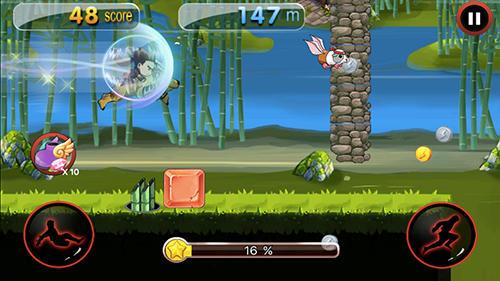 Arcade Dragon ninja rush für das Smartphone