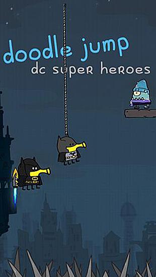 Doodle jump: DC super heroes captura de pantalla 1