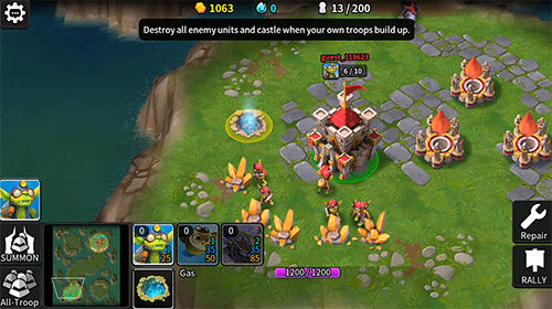 Online Tales arena: This is the RTS games on your palm für das Smartphone