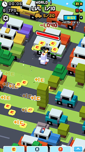 Crossy road rage für Android