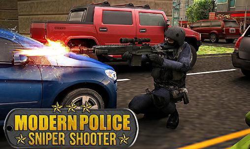 Modern police: Sniper shooter icon