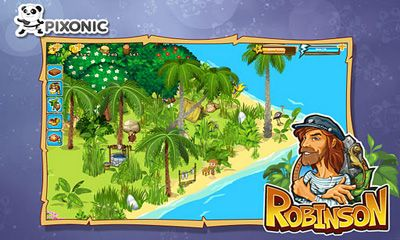 Online games Robinson for smartphone