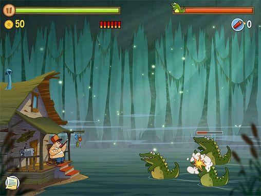 d'arcade Swamp attack pour smartphone