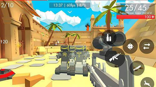 Actionspiele: Lade Roboter: Reloaded auf dein Handy herunter