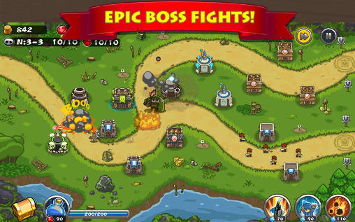 Strategy games Horde defense for smartphone