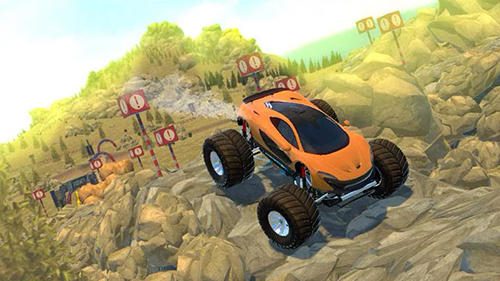 4x4 offr-oad parking simulator para Android