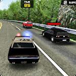 Police simulator 3D icon