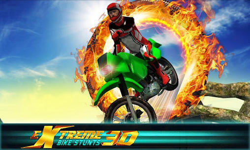 Extreme bike stunts 3D Screenshot