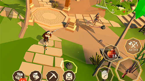Action Stay alive: Survival and adventures on the island für das Smartphone