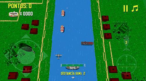 Arcade-Spiele River attack für das Smartphone