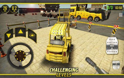 Forklift simulator 3D 2014 für Android