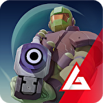 Space pioneer: Shoot, build and rule the galaxy Symbol