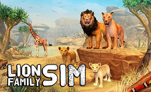 Lion family sim online captura de pantalla 1
