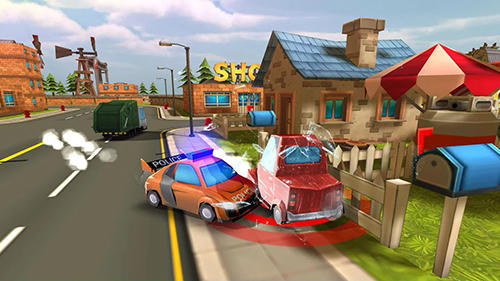 Blocky cop pursuit terrorist for Android