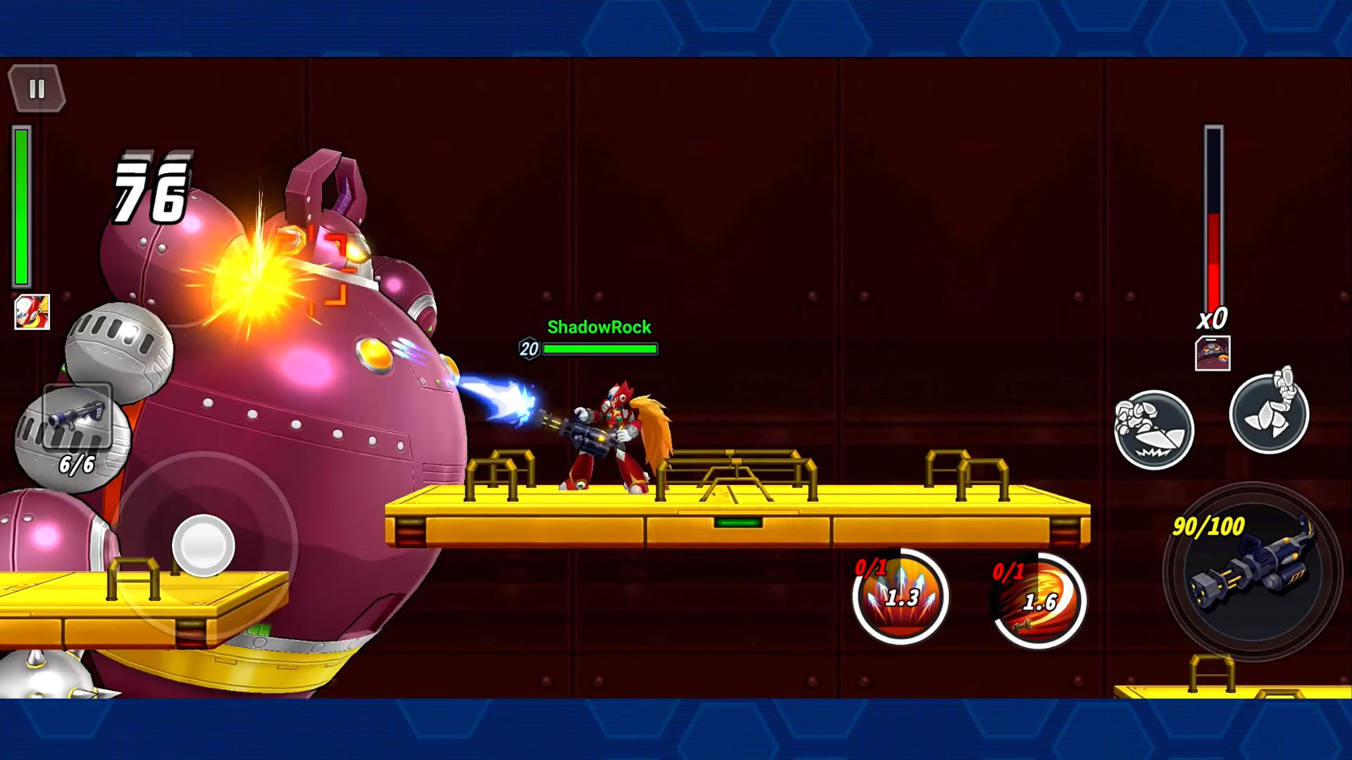 MEGA MAN X DiVE captura de pantalla 1