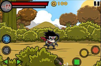 Screenshot BlutNinja - Der letzte Held auf dem iPhone