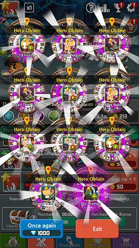 RPG Dragon warriors: Idle RPG für das Smartphone