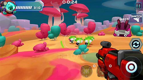 Arcade-Spiele Galaxy gunner: Adventure für das Smartphone