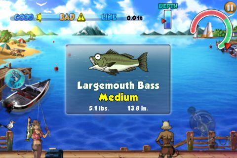 Großer Fisch für iPhone