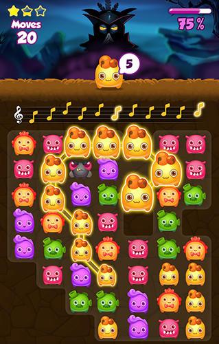 Arcade Melody monsters für das Smartphone