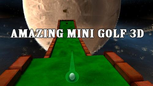 логотип Удивительный мини гольф 3D