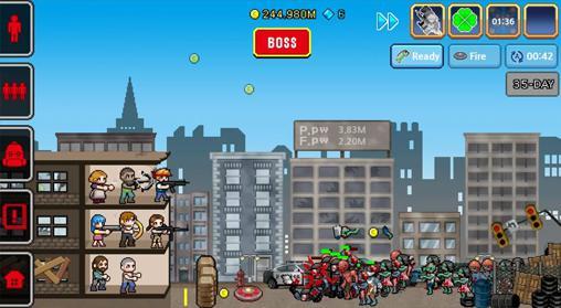 100 days: Zombie survival скриншот 2
