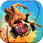 Guts and wheels 3D icono