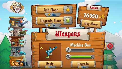 Arcade-Spiele Tower crush für das Smartphone