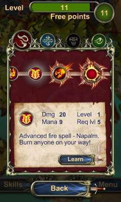Strategie Lord of Magic für das Smartphone