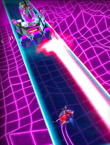 Neon drift: Retro arcade combat race screenshots