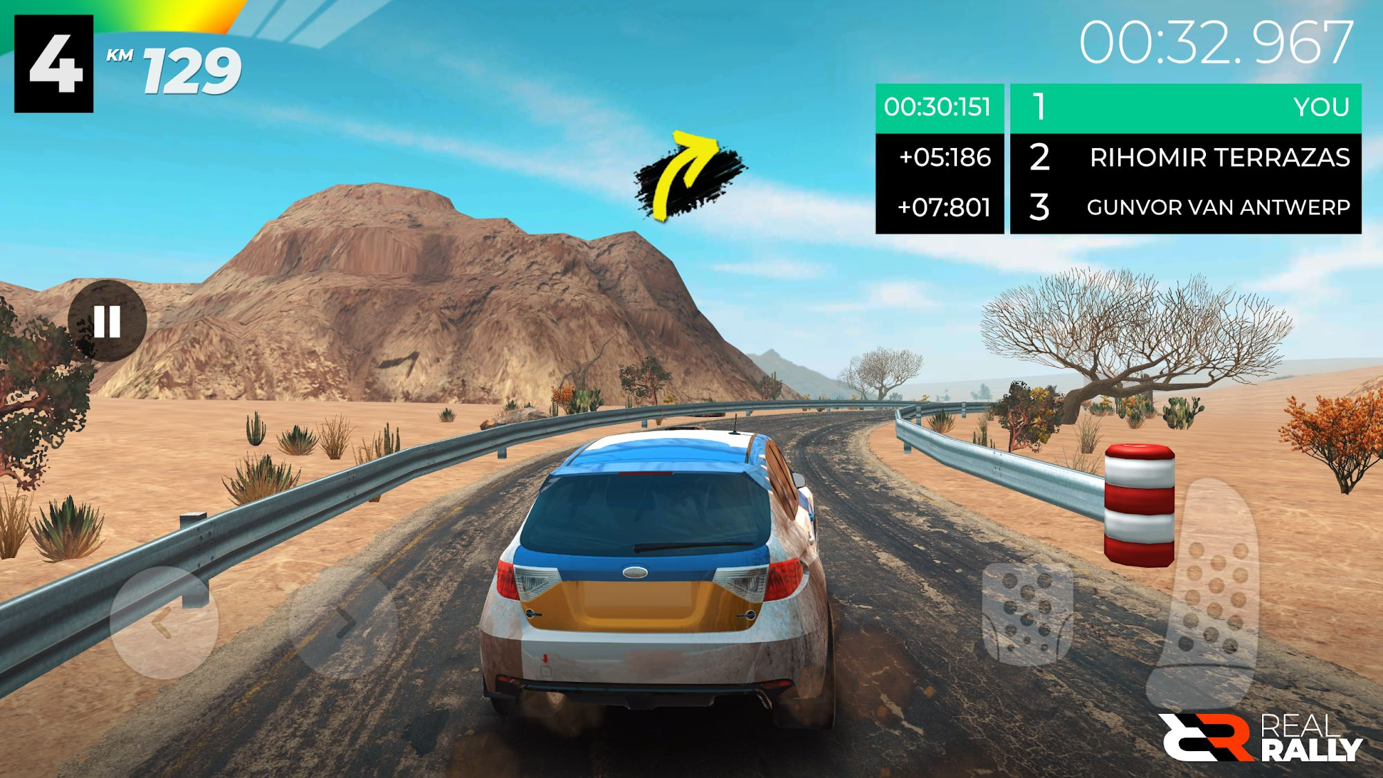 Real Rally para Android