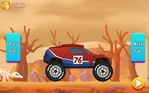 Road draw: Hill climb race for Android