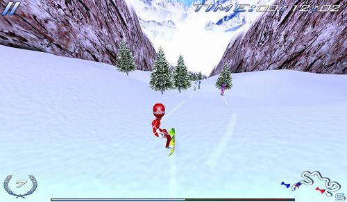 de sport Comptétions du snowboard: Final