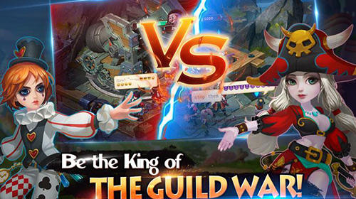 RPG-Spiele Dreamcraft: Legends clash für das Smartphone