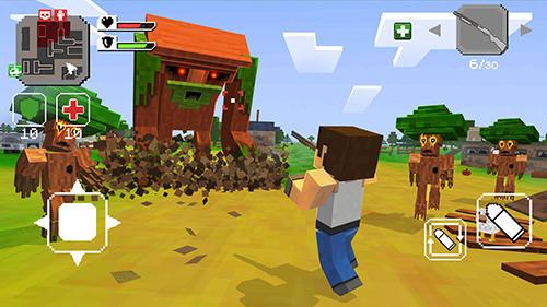Pixelspiele Grand pixel wars: Open world auf Deutsch