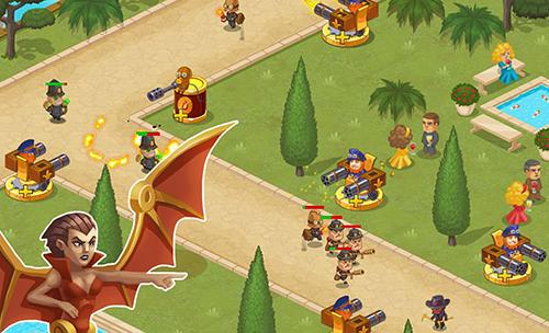 Strategie Steampunk syndicate 2: Tower defense game für das Smartphone