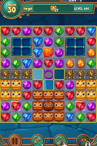Jewels fantasy: Match 3 puzzle скриншот 2
