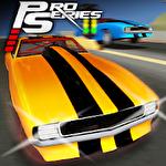Pro series drag racing icono