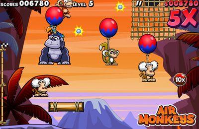 Arcade-Spiele: Lade Fliegende Affen auf dein Handy herunter
