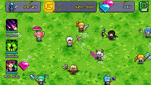 RPG-Spiele Hero evolution für das Smartphone