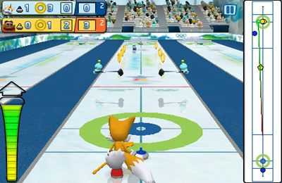 Arcade-Spiele: Lade Sonic bei den olympischen Winterspielen auf dein Handy herunter