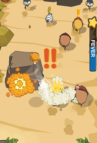 Little jumper: Golden springboard Screenshot