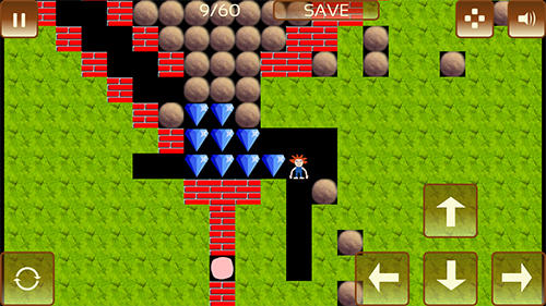Logikspiele The gem hunter: A classic rocks and diamonds game für das Smartphone