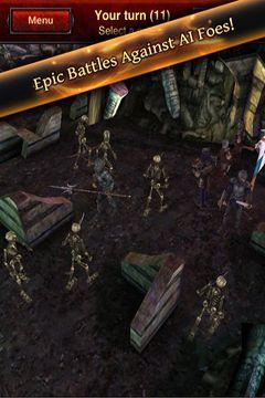 Captura de pantalla La batalla de los resucitados en iPhone