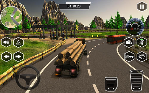 Dr. Truck driver: Real truck simulator 3D for Android