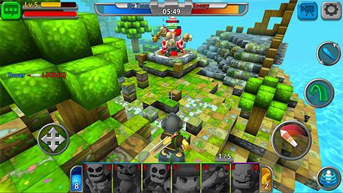 RPG Battlemon league für das Smartphone