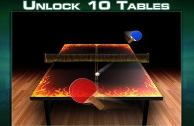 Screenshot Tischtennis Weltmeisterschaft auf dem iPhone
