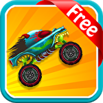 Jungle monster truck for kids іконка