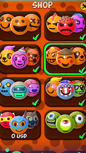 Logikspiele Emoji mine für das Smartphone
